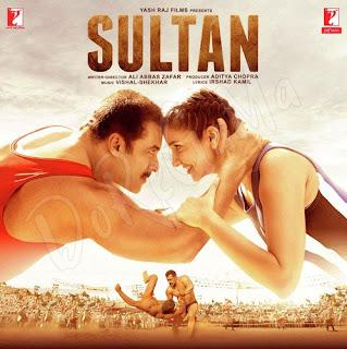 Sultan 2016 Original CD torrent front cover Label