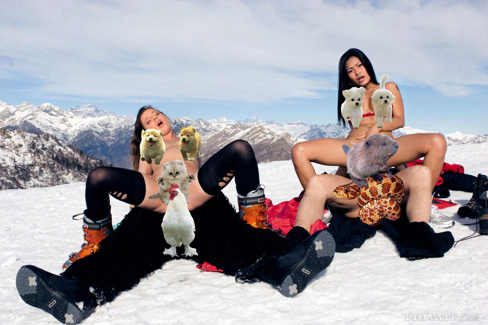 неблагополучными голые лыжницы порно видео потом