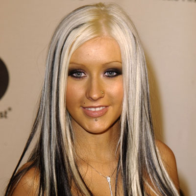 Celebrity Christina Aguilera Hair Color | Celebrity Hair Cuts