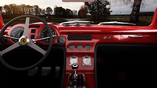 1952 Ferrari 340 Racing Car Interior Dashboard Picture