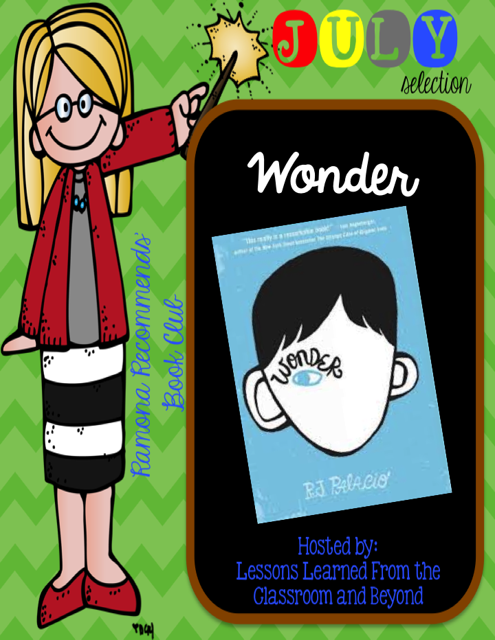 Riedmiller's Room: Ramona Recommends July Book Club