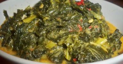 Hidangan Sahur Dan Buka Puasa: Resep Gulai Daun Singkong