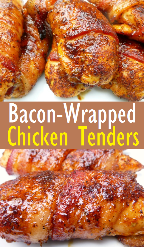 Easy Bacon-Wrapped Chicken Tenders Recipe