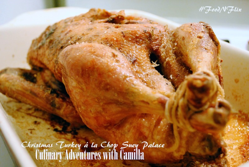 Christmas Turkey á la Chop Suey Palace inspired by A Christmas Story by Culinary Adventures with Camilla - A Christmas Story #FoodnFlix roundup via allroadsleadtothe.kitchen