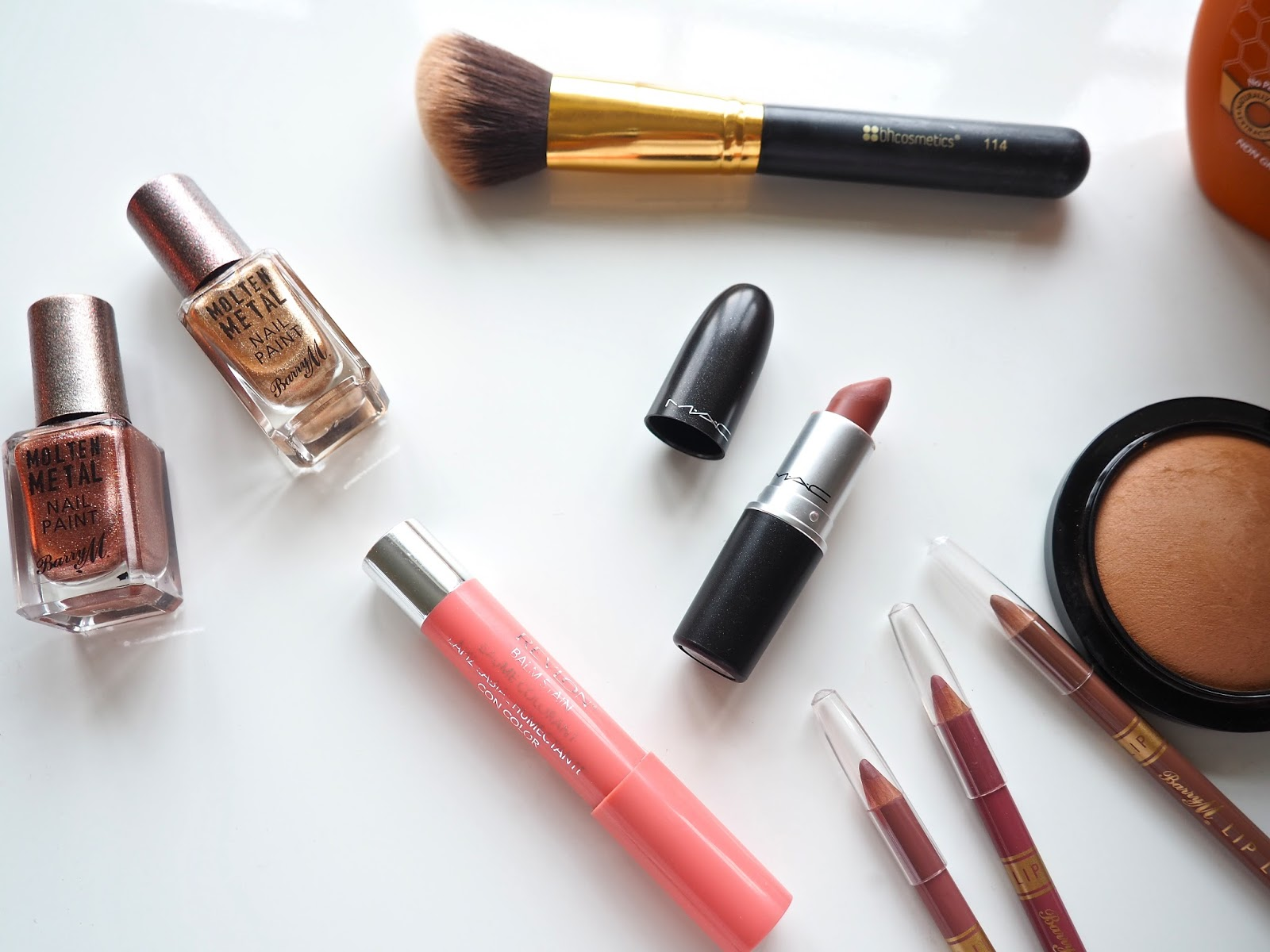 New Beauty favourites Mac Cosmetics Barry M It's Cultured