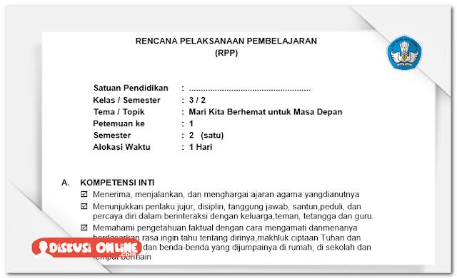 RPP dan Silabus SD Kelas III Kurikulum 2013 Lengkap Terbaru