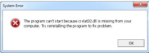 Télécharger Crxlat32.dll Fichier Gratuit Installer
