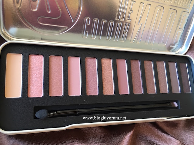 w7 in the nude colour me nude palet