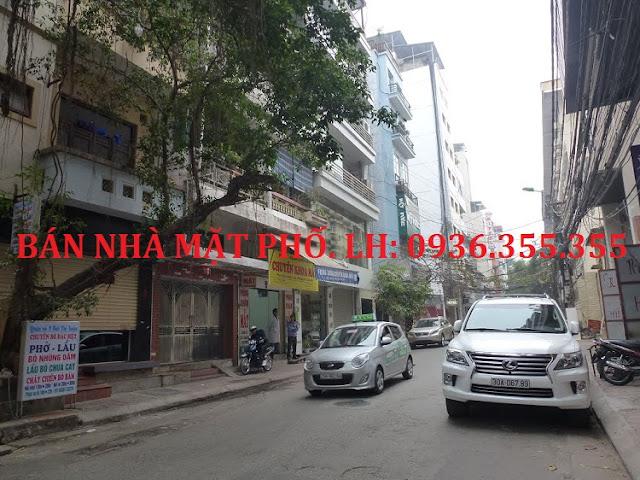 Bán nhà mặt phố Bùi Thị Xuân