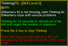 naruto castle defense 6.0 Shikamaru thinking detail