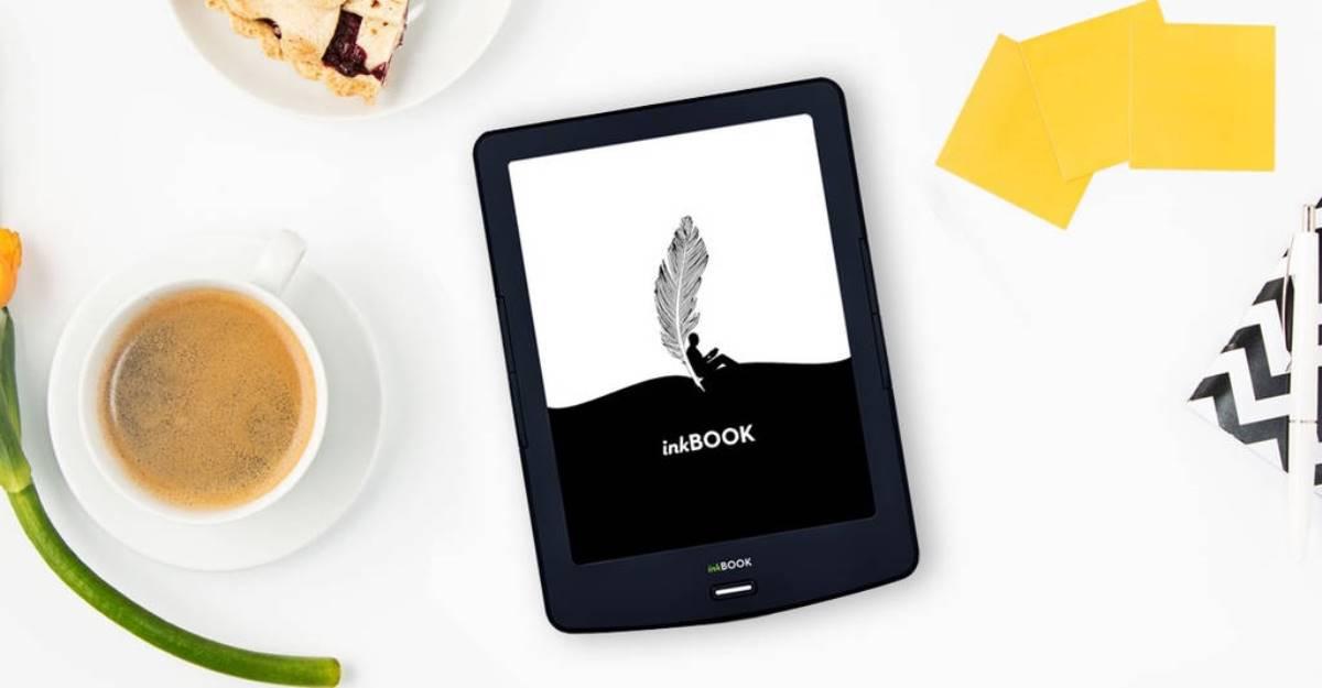 InkBOOK Lumos czytnik e-booków z niską rozdzielczością i wbudowanym doświetleniem ekranu