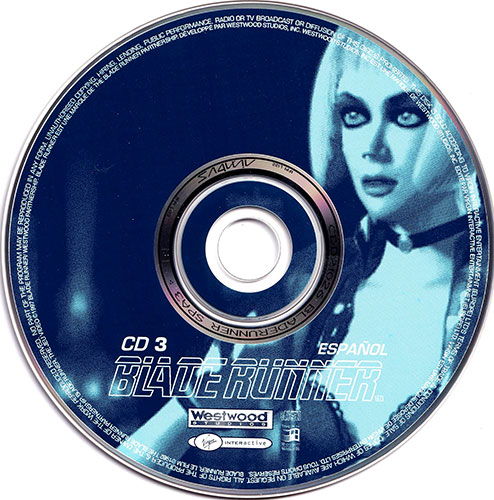 Blade Runner PC CD 3