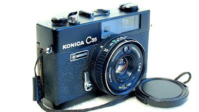 Konica C35 Automatic Rangefinder (Black) #975