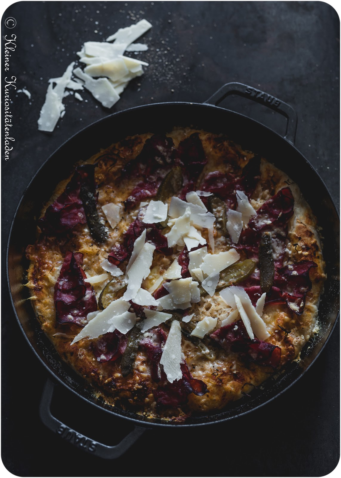 Cast-Iron Pan Pizza