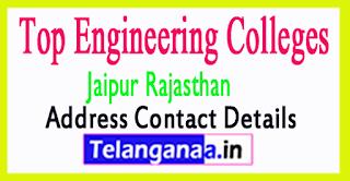 Engineering Colleges in Jaipur Rajasthan