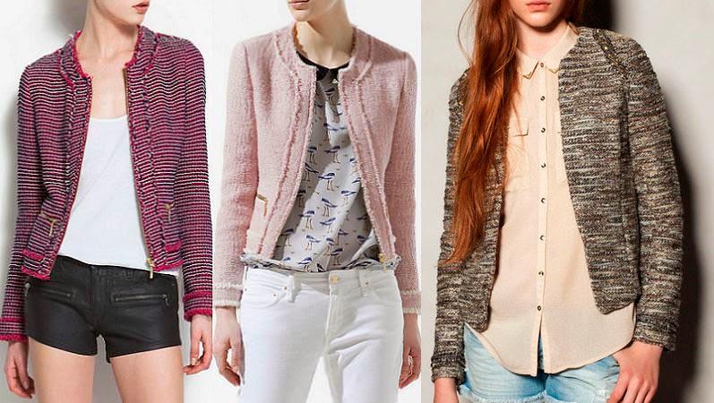 Diy chaqueta chanel patrón gratis incluido costura de chaqueta blazer jpg  797x450 Lanilla chaquetas de damas 9e88c59b2f03