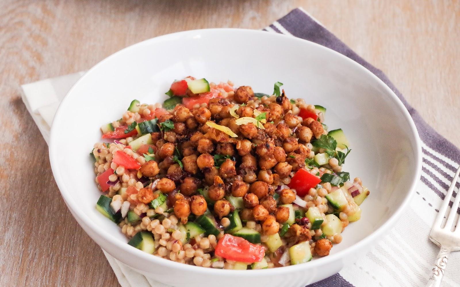 Moroccan Chickpea Salad  Euphoric Vegan