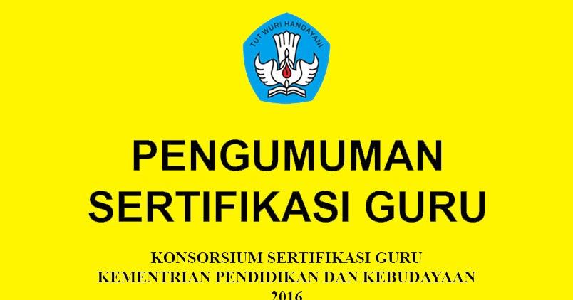 Hasil gambar untuk konsorsium sertifikasi guru