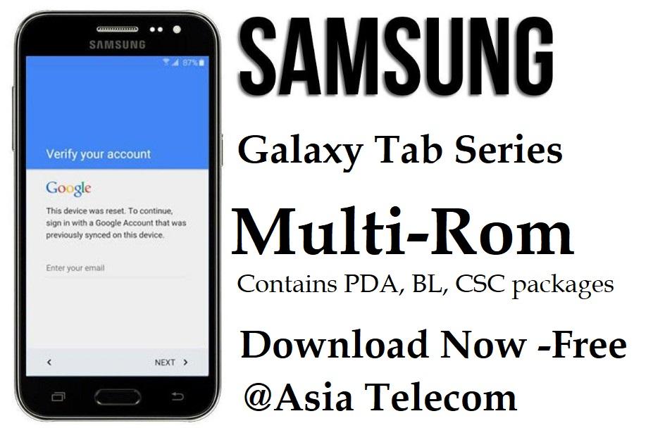 Samsung Multi-Firmware Download firmware Galaxy Tab Series