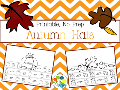 No Prep Autumn Hats | Apples to Applique