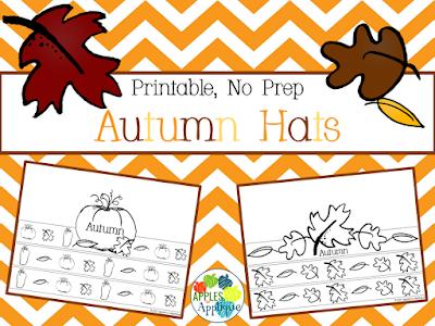 No Prep Autumn Hats | Apples to Applique