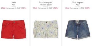 Shorts para nina 2