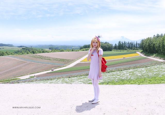 The Shikisai-No Oka Flower Farm In Furano Hokkaido