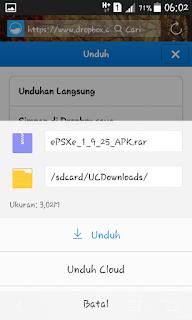 Tips Mendownload File Pada Dropbox Versi Mobile
