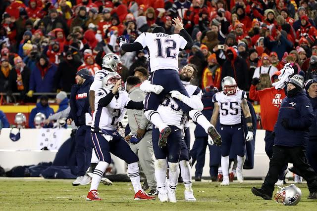 FÚTBOL AMERICANO - Los Patriots acarrean hasta la Super Bowl LIII, la tercera consecutiva