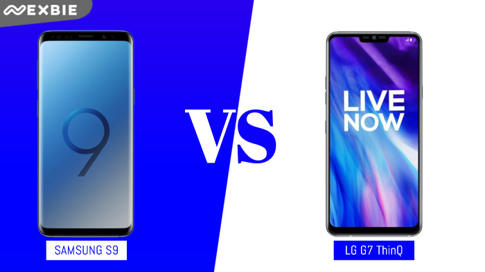 Samsung Galaxy S9 VS LG G7 ThinQ