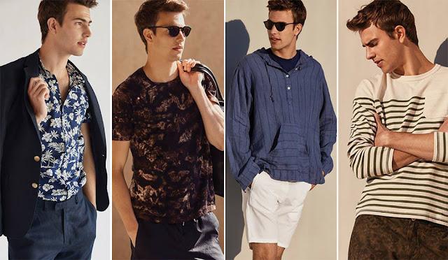 Moda verano 2017 hombre. Moda hombre 2017: ropa y accesorios para hombre moda 2017 Bensimon.