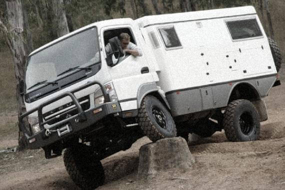 EarthCruiser EXP handling crazy offroad conditions