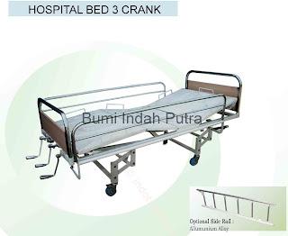 tempat tidur pasien 3 engkol
