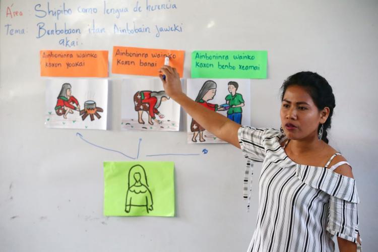PRONABEC: BECA 18 hace realidad primera promoción de docentes shipibo-konibo - www.pronabec.gob.pe