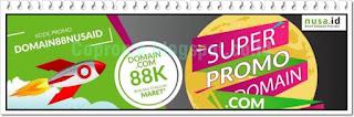 Promo Domain .com Maret 2018 dan Kode Kupon