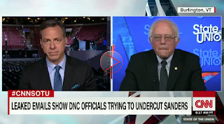 Sanders: Leaked DNC Emails 'Outrageous' But Not a Great Shock To Me :: Grabien - The Multimedia Marketplace