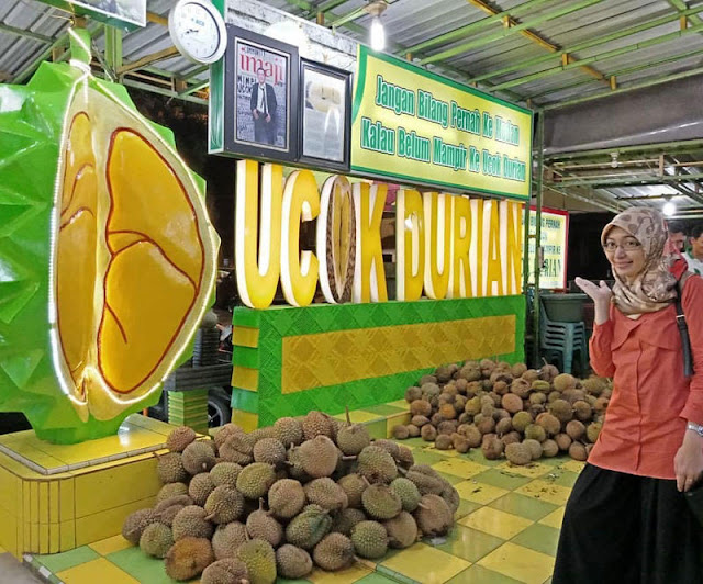 Durian Ucok, durian Medan sepanjang tahun Panen.