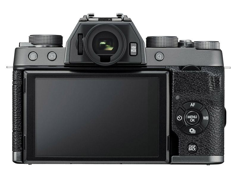 Fuji X-T100 body flash