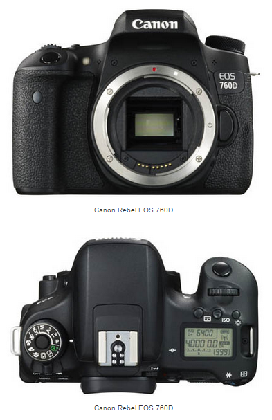 Canon EOS 750D Images before Official Launch