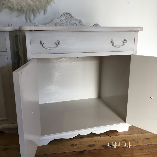 beautiful french style bedsides by Lilyfield Life