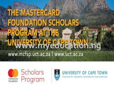 Study Abroad 2018: Mastercard Foundation Scholars Program at UCT