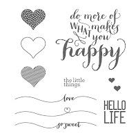 Stampin'UP!'s Hello Life stamp set