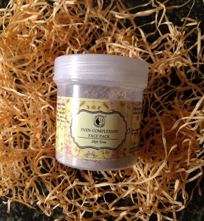 Skinsense Natural Luxury Even Complexion Face Pack Review