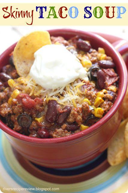Join the Recipe Critic for the latest and greatest! Like us on Facebook or follow on Pinterest! This is our family's go-to taco soup recipe.