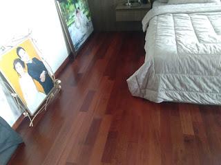 Lantai kayu Parket Serang Banten harga murah berkualitas