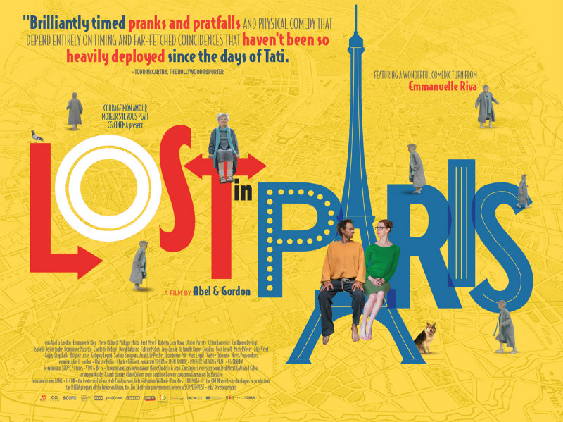 lost in paris uk poster