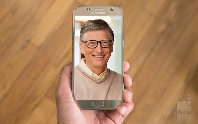 هل تعلم ان بيل جيتس يستخدم حاليا هاتف بنظام أندرويد ؟