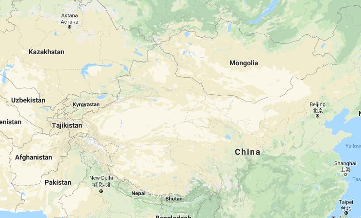 Peta Asia Tenggara Barat Selatan Timur Lengkap Jelas Gambar Tengah