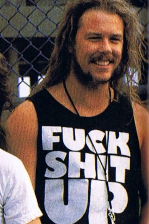 FUCK SHIT UP T-shirt as worn by James Hetfield Metallica