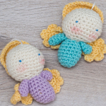 http://www.redheart.com/free-patterns/amigurumi-angel-ornaments